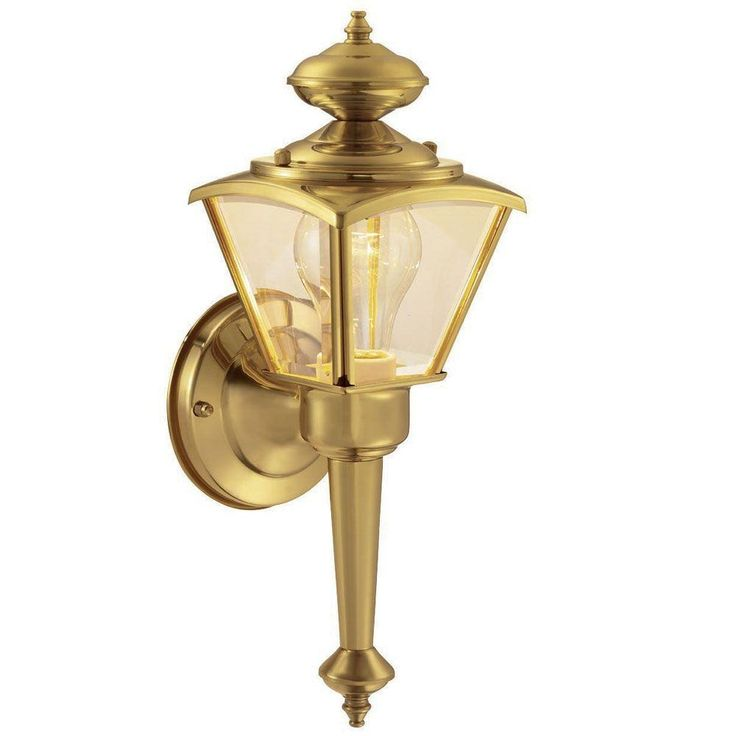 Antique Brass Outside Light Fixtures
