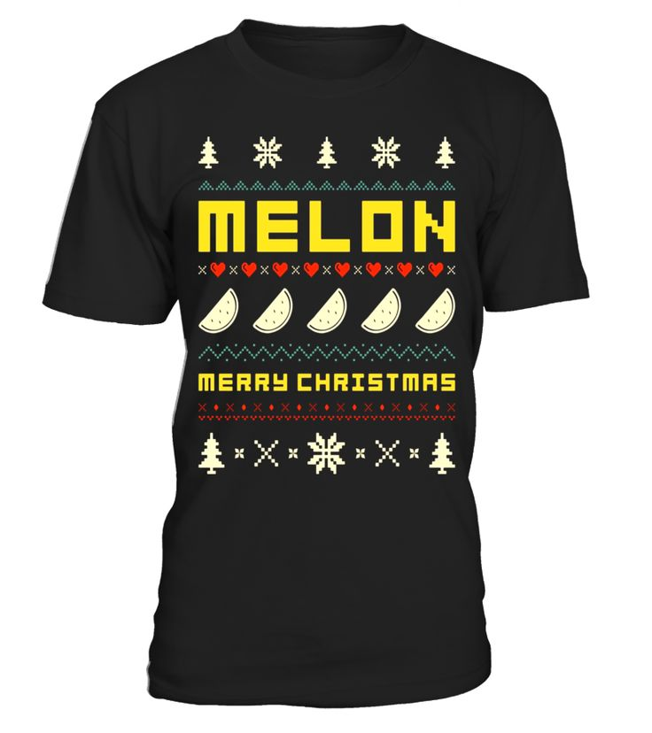 MELON Ugly Christmas Sweater T-Shirt Vintage Retro Style T-shirt, christmas t-shirts women, christmas t-shirts men, christmas t-shirt 4xl, christmas t-shirt boys, christmas t-shirt family set, christmas t-shirt 2017