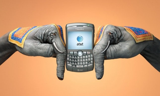 Creative Ads from AT&T MobileTo, Picture-Black Posters, Elephant, Ads Campaigns, Advertis, Handart, Painting, Mobiles Phones, Hands Art
