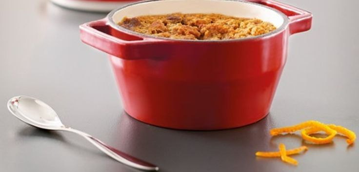 Puddings au pain d'épice et à l'orange