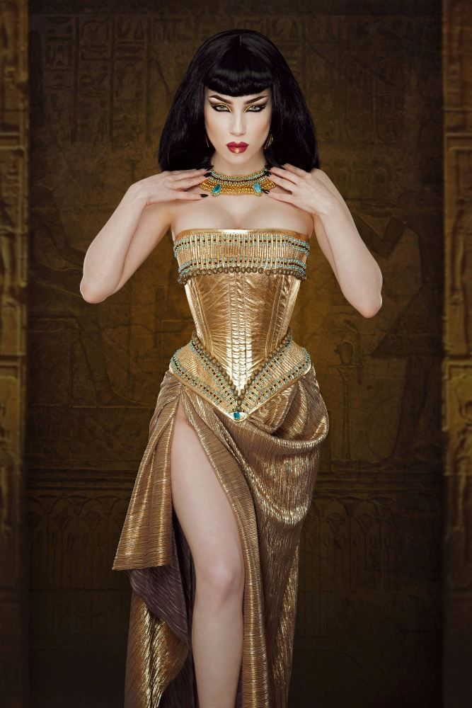 Egyptian corsetry collection corset: Cleopatra