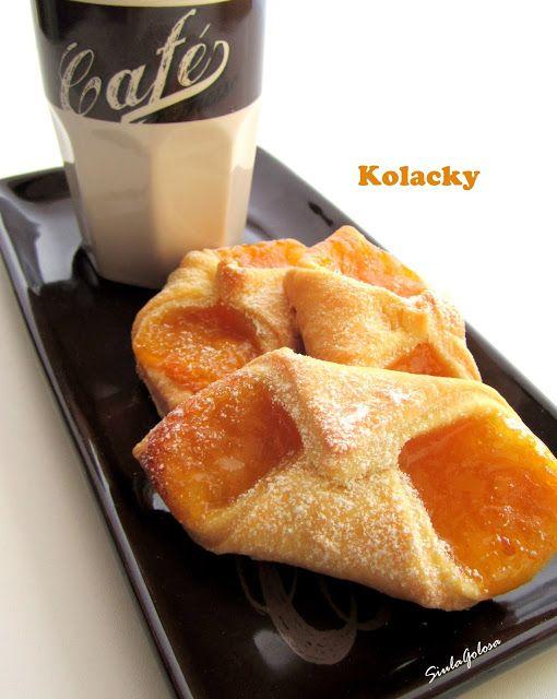 Kolacky, biscotti al Philadelphia con confettura
