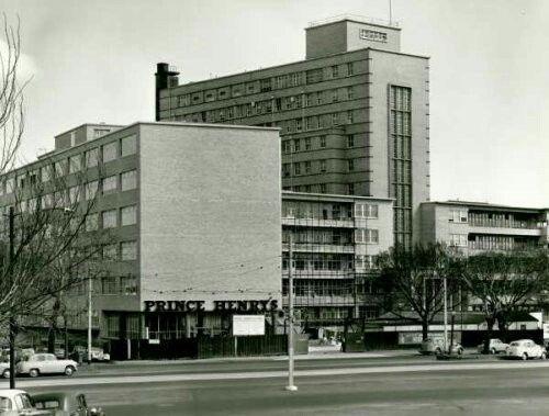 Prince Henry's Hospital, St Kilda Rd, Melbourne, demolished in 1994.