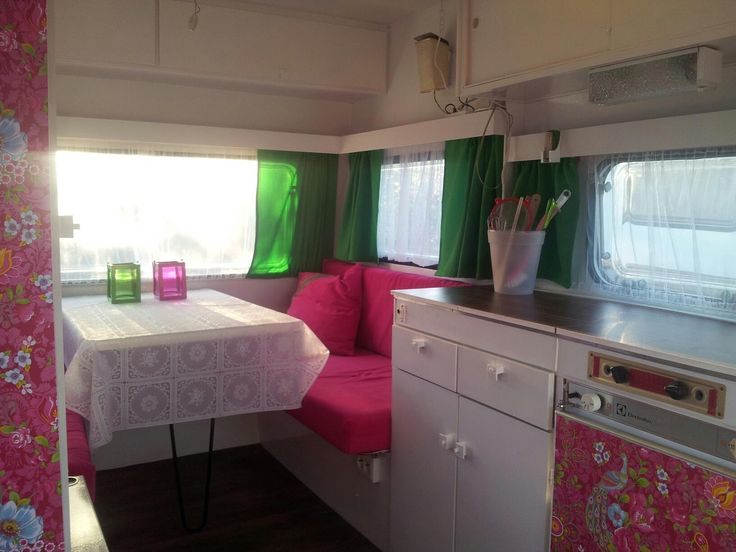 Keuken Pimpen Plakfolie : Vintage Caravan