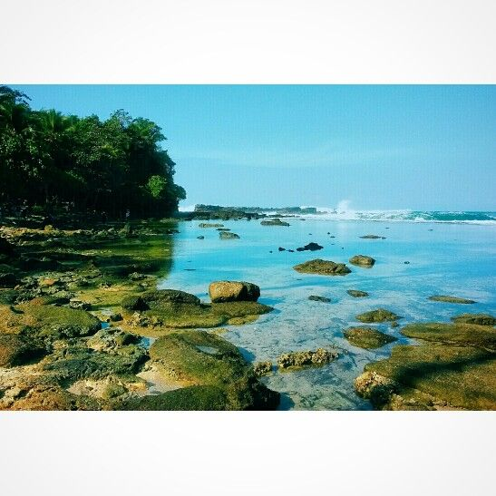 The hidden paradise, Sawarna Beach #Indonesia
