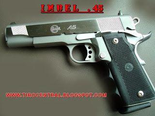 Imbel .45mm Brasileira inspirada na S&W1911