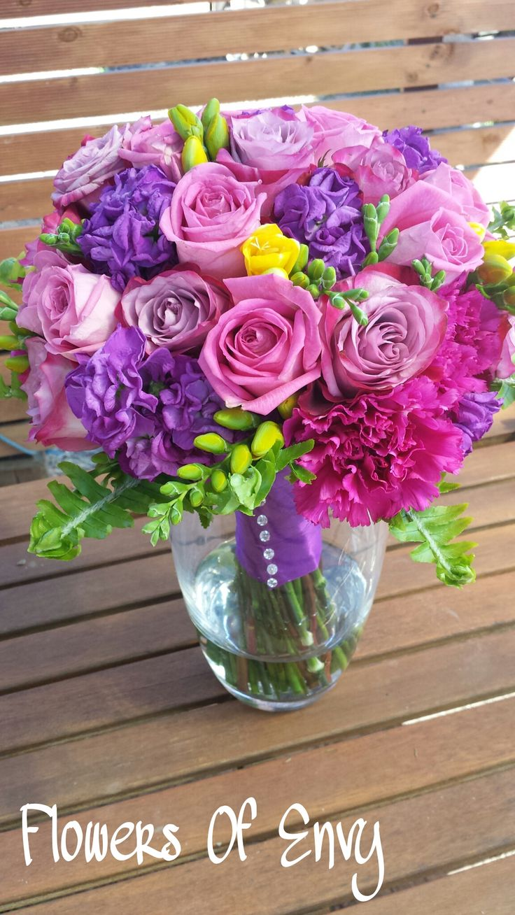 Mixed Spring Wedding Bouquet