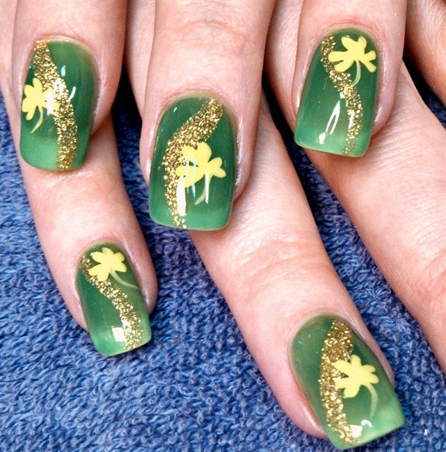 127 best st patricks day nail design images on pinterest red rover in clover nail art gallery prinsesfo Images