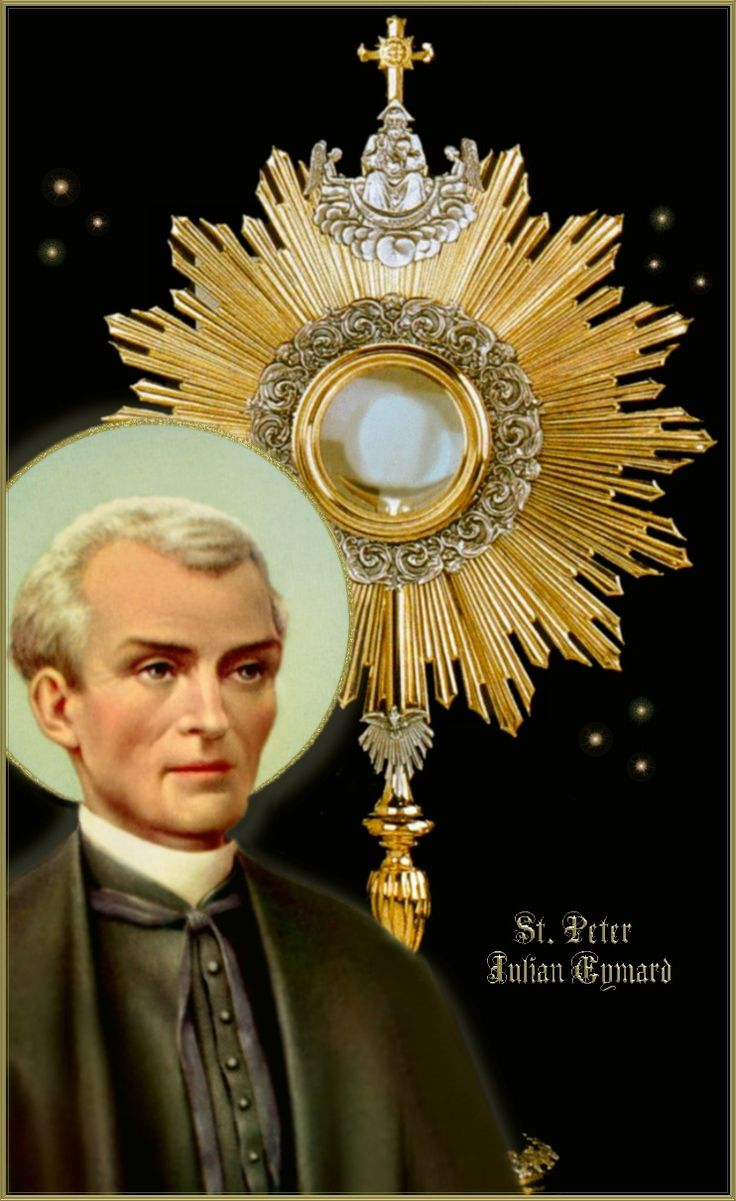 """Saints And Angels Oracle Cards: Founder Of The Congregation Of The Blessed Sacrament """"Live"""