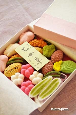 (1953) Japanese sweets / 干菓子 | S w E e T s O f t H e E a S t | Pinterest