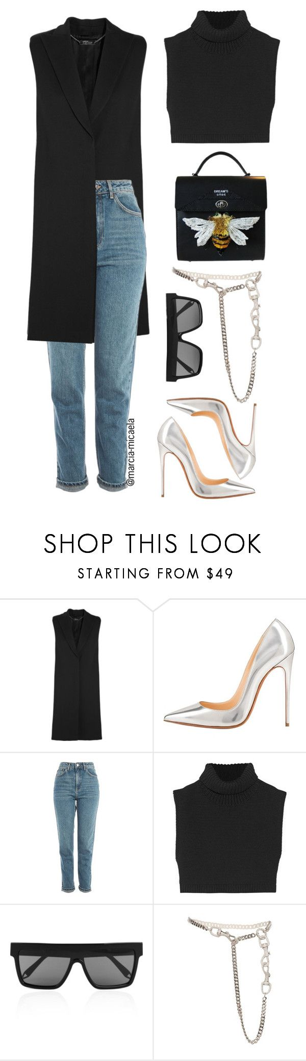 """""""• MINI BAG •"""" by marcia-micaela ❤ liked on Polyvore featuring Alexander McQueen, Topshop, Victoria Beckham and Christian Dior"""