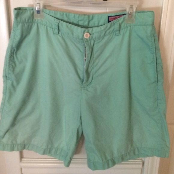 Vineyard Vine Mens shorts These have been worn a lot.  Still life left. Last pic shows wear in back. Price reflects Vineyard Vines Shorts