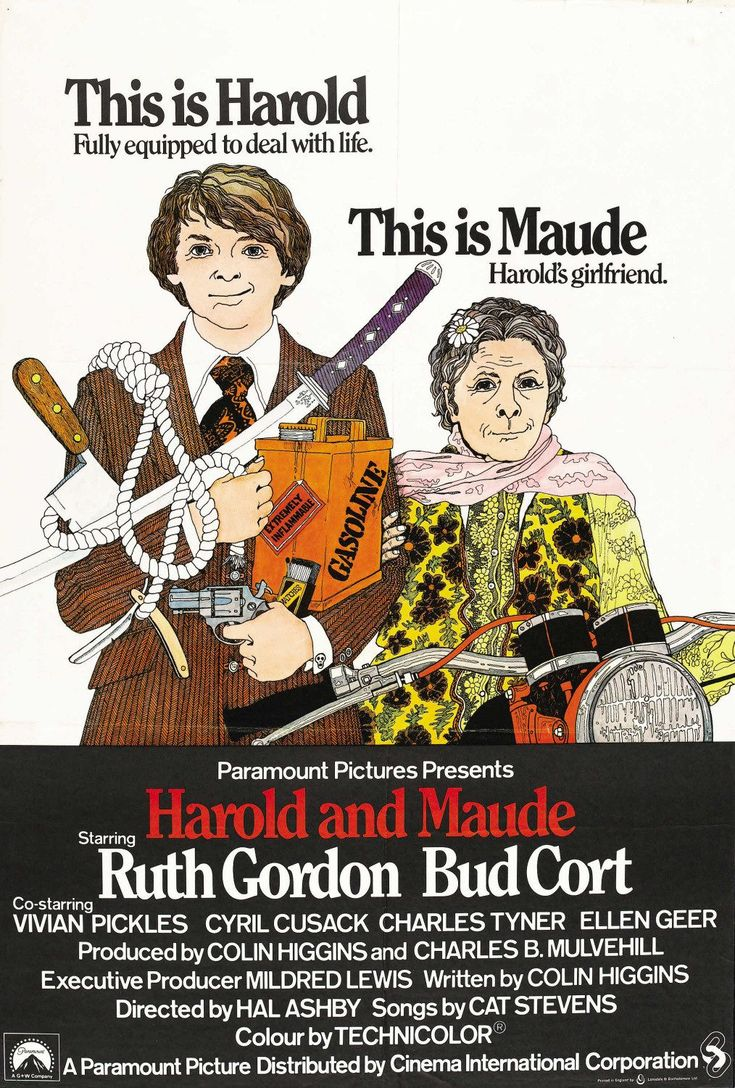 Harold and Maude, Hal Ashby,1971