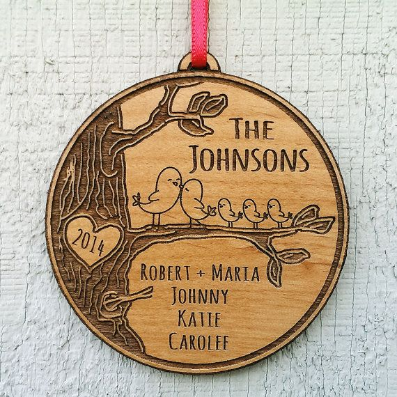 Personalized Family Christmas Ornament Gift Christmas by eugenie2