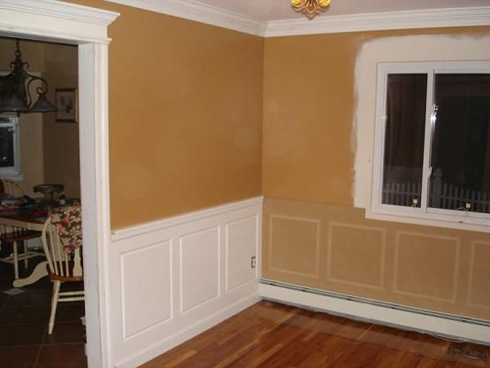 painting mdf wainscoting 2