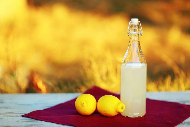 Prečo piť citrónovú vodu...účinky.