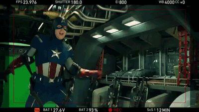 Avengers having fun