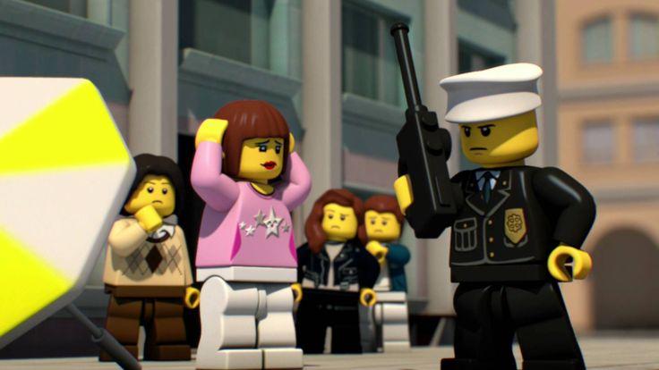 레고® 시티 날으는 도둑들