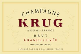 Krug Champagne.. yummy champagne. Even the non-vintage is so worth it.