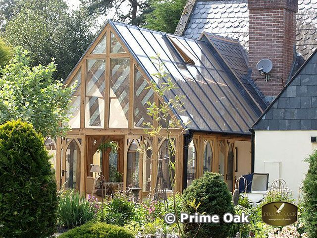 Prime oak buildings ltd quality oak framed orangeries for Oak garden rooms