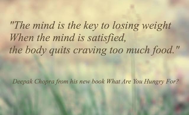 Mindfulness - seelischer Hunger kann nicht mit Essen gestillt werden...