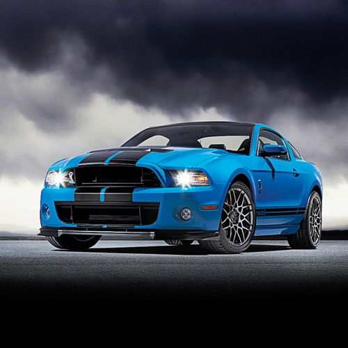 The 2013 Mustang Shelby GT500