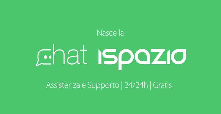 Nasce la CHAT iSpazio: Il primo servizio di assistenza e di supporto immediato e gratuito tramite iSpazio Push App!
