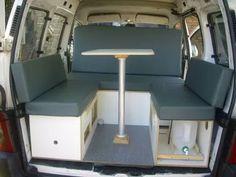 Mini Camper Para Partner, Berlingo Y Kangoo - $ 8.600,00
