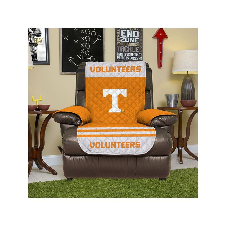 Tennessee Volunteers Quilted Recliner Chair Cover, Orange