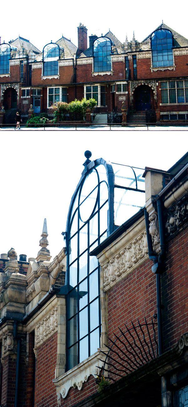 Victorian artists' studios, London