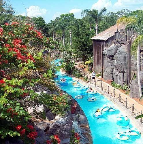 Lazy River at Typhoon Lagoon ~ Walt Disney World Resort l Lake Buena Vista, Florida