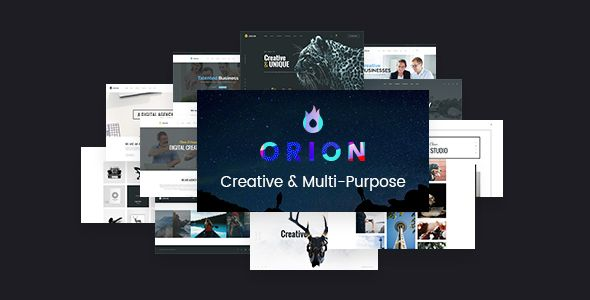 Free Download Orion v1.1 Creative Multi-Purpose WordPress Theme
