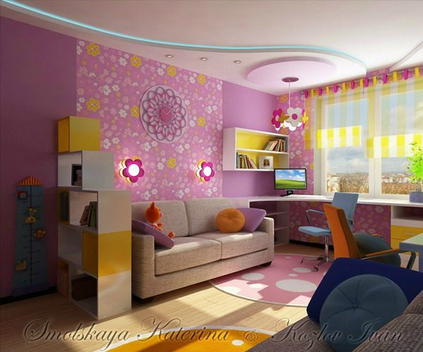 60 best Girls Bedroom images on Pinterest | Child room, Bedrooms and ...