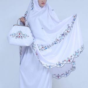 Mukena Sutra Yuriyu Syahrini Putih