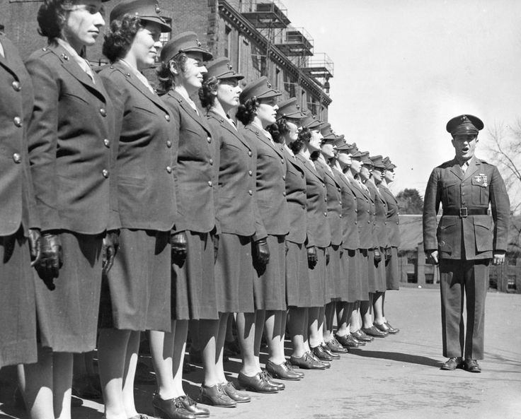 Meanwhile in America, women began training at the Marine Corps Recruit Depot in Parris Island in 1949. Today, all female recruits are still trained and transformed at Parris Island.