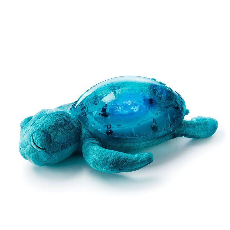 Veilleuse tortue aquatique - Un bel effet lumineux et deux sons apaisants pour réconforter les petits - 44,95 €