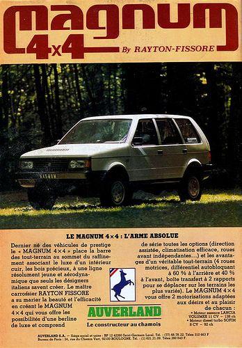 Rayton Fissore Magnum 4x4 1987 | Flickr – Condivisione di foto!