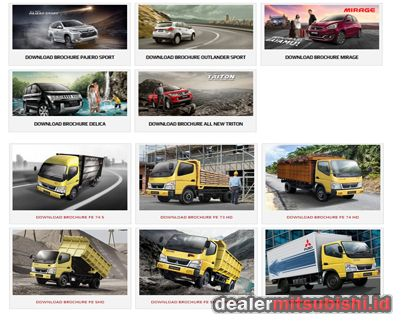 Download Brosur Mitsubishi