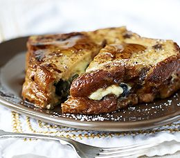 MyPanera Recipe: A Blueberry Stuffed French Toast: 1 loaf Panera Bread Cinnamon