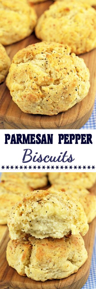 Parmesan Pepper Biscuits #biscuits #dropbiscuits #easyrecipes