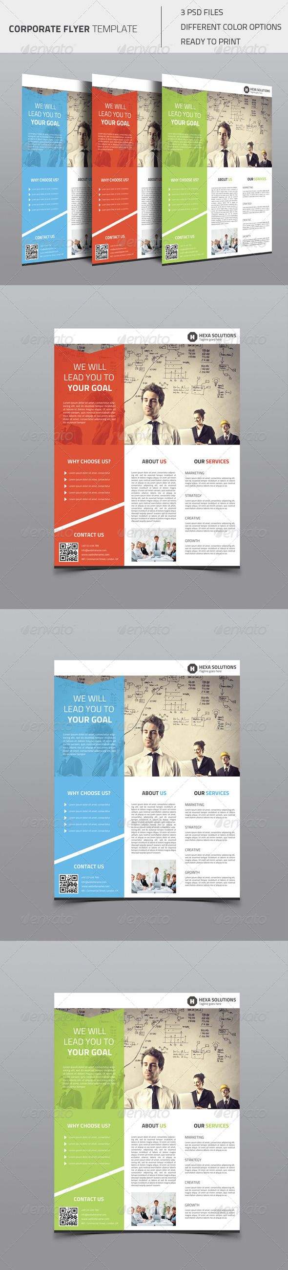 17 best ideas about flyer design graphic design corporate flyer 02