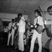 During his nine-month stint with the Isley Brothers in 1964, Hendrix got his first Fender - a blond '59 or '60 Duo-Sonic. With Little Richard's Upsetters in '65, he slung a Fender Jazzmaster. He switched back to a sunburst Duo-Sonic with Curtis Knight & the Squires, but later returned to a Jazzmaster.