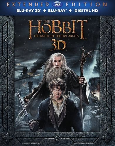 The Hobbit: The Battle of the Five Armies [Extended Edition] [3D] [Blu-ray/DVD] [Blu-ray/Blu-ray 3D/DVD] [2014]