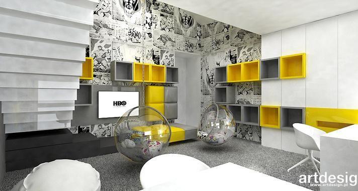 Znalezione obrazy dla zapytania artdesign pokoj chlopca