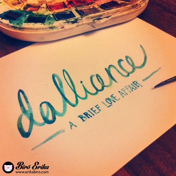 14 Best Images About My Calligraphy Erika Biro On