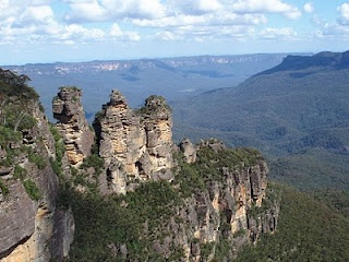 The Three Sisters  Katoomba Blue Mountains  NSW, Australia