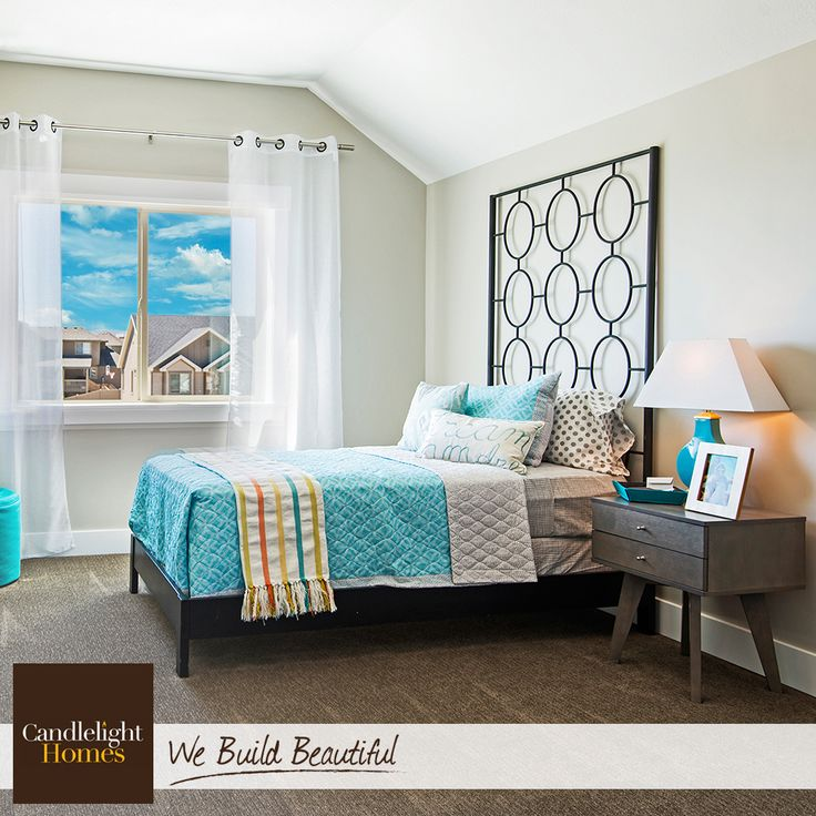This Guest Bedroom Includes Fun Colors And Textures That Eal To Visitors Of All Ages