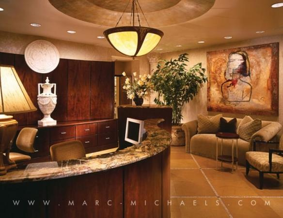 Corporate Office Front Entrance At Marc Michaels Interior Design In Winter Park FL