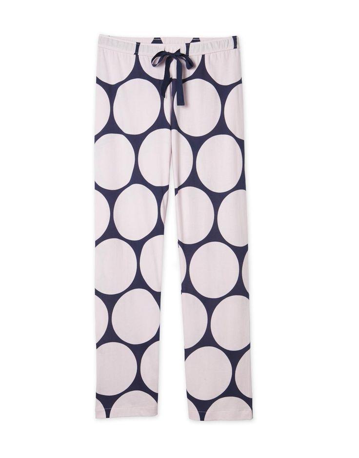 Circle Print Pyjama Pant