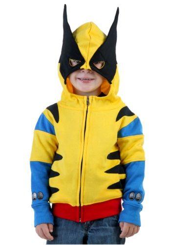 Toddler Wolverine Costume Hoodie